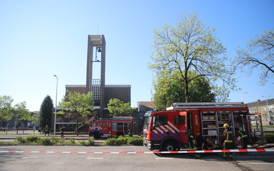 Zeer grote brand in voormalig uitvaartcentrum van Kramer Uitvaartzorg