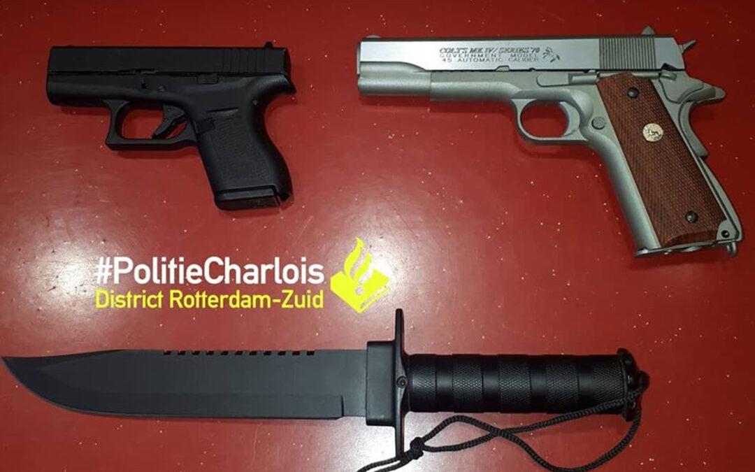 Rotterdamse airsofter moet wapens inleveren na overtreden vervoersregels