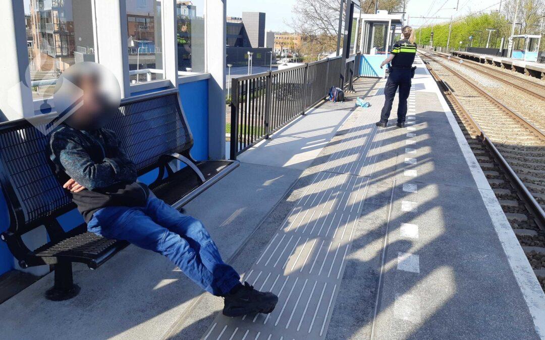 Forse boete voor treinreiziger in Nieuwerkerk aan den IJssel
