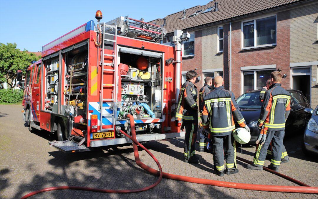 Wasmachine veroorzaakt kleine woningbrand aan Jantjeserf in Gouda