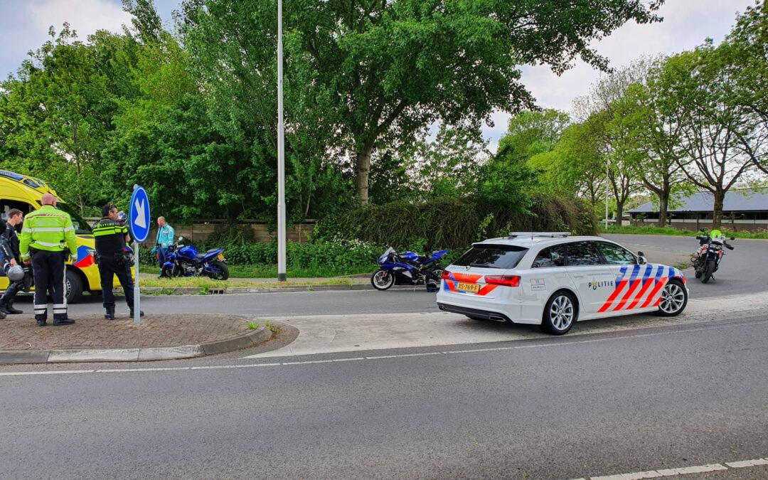 Motorrijder gewond bij glijpartij Burgemeester Crolesbrug – N458 Bodegraven
