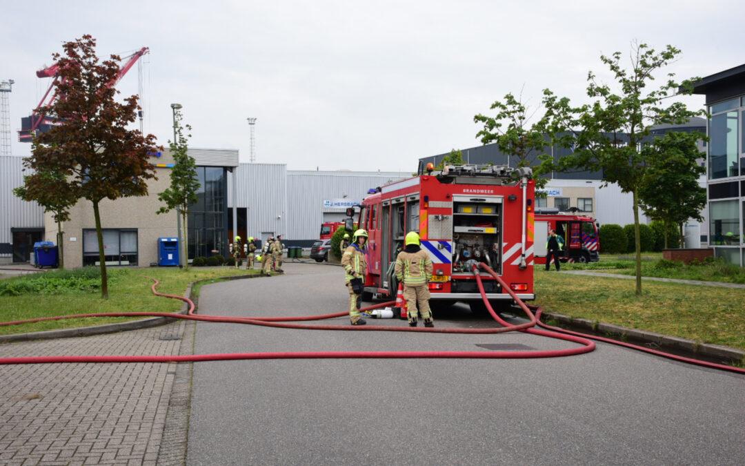 Felle brand in laboratorium Jan van Galenstraat Schiedam