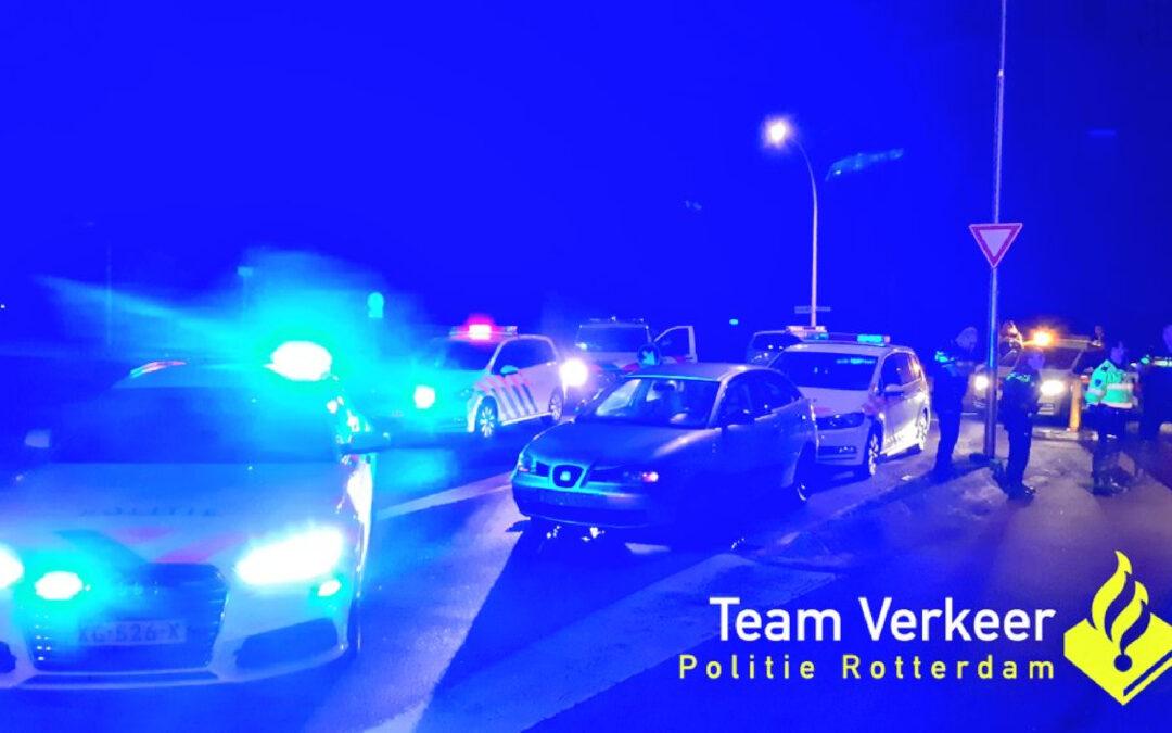 Jongeman (23) aangehouden na achtervolging Plantageweg Zwijndrecht