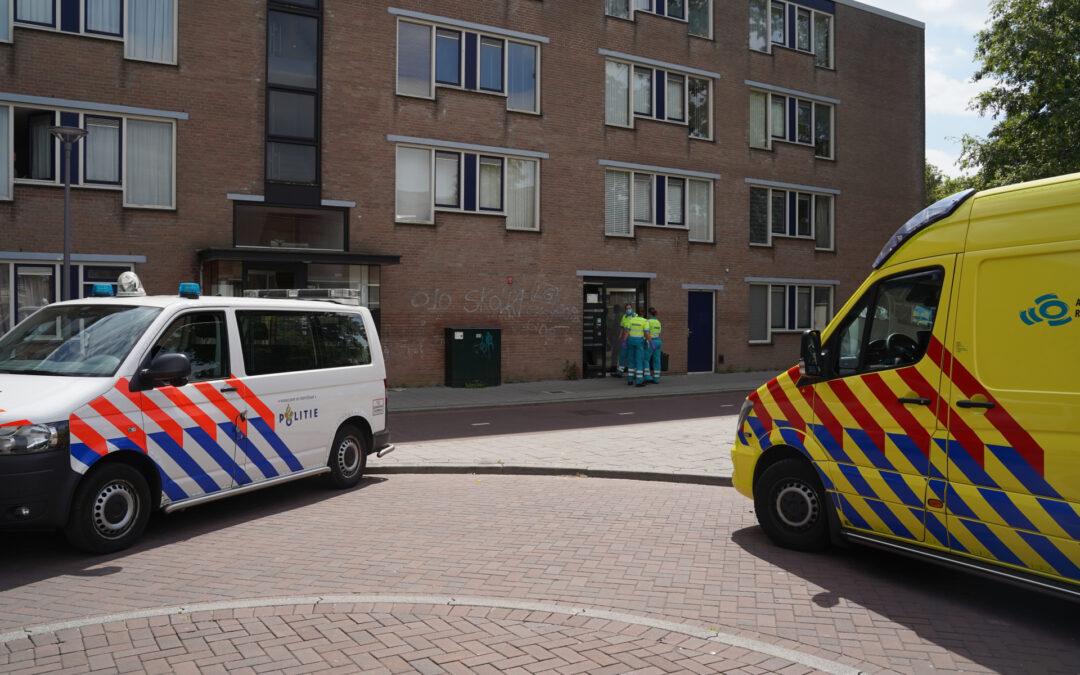Steekpartij na conflict in woning Varnasingel Rotterdam