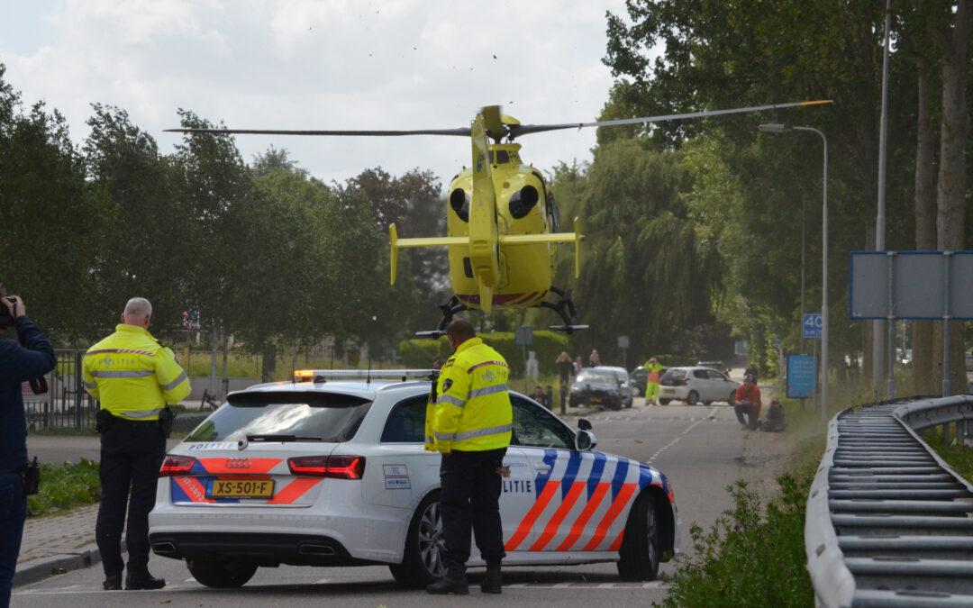 Jongetje 8 gewond na ongeval met brommer Leeuwenhoekweg Bergschenhoek