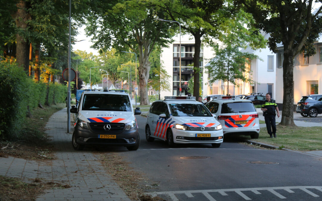 Twee personen aangehouden na vluchtpoging Geuweg Sittard