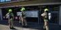 Brandweer onderzoekt rookontwikkeling in kantoorpand Waalhaven Zuidzijde Rotterdam