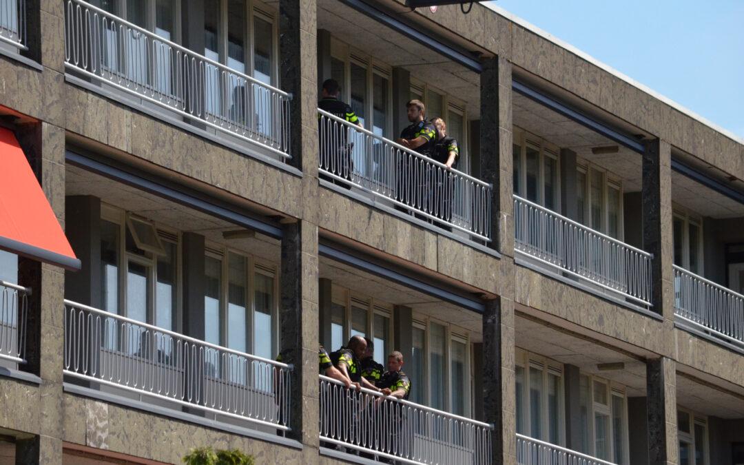 Politie onderzoekt melding schietpartij Icarusstraat Rotterdam