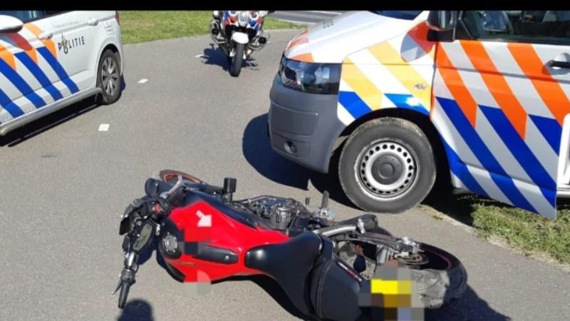 Rotterdamse motorrijder aangehouden in Barendrecht na dollemansrit