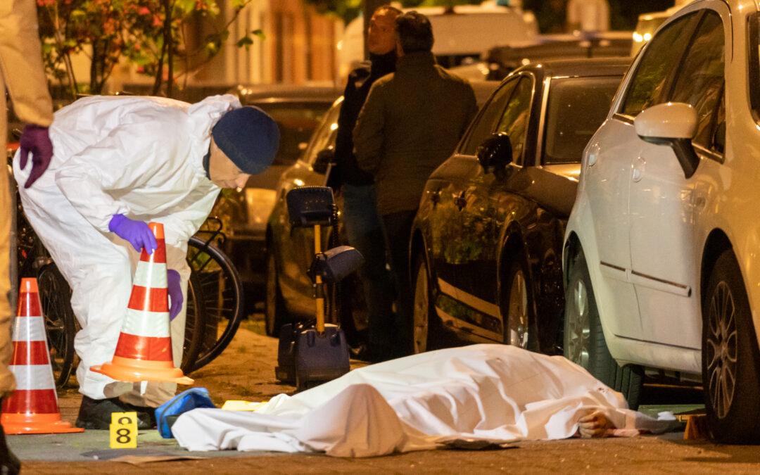 Doodgeschoten man is 25-jarige Rotterdammer Bergselaan Rotterdam
