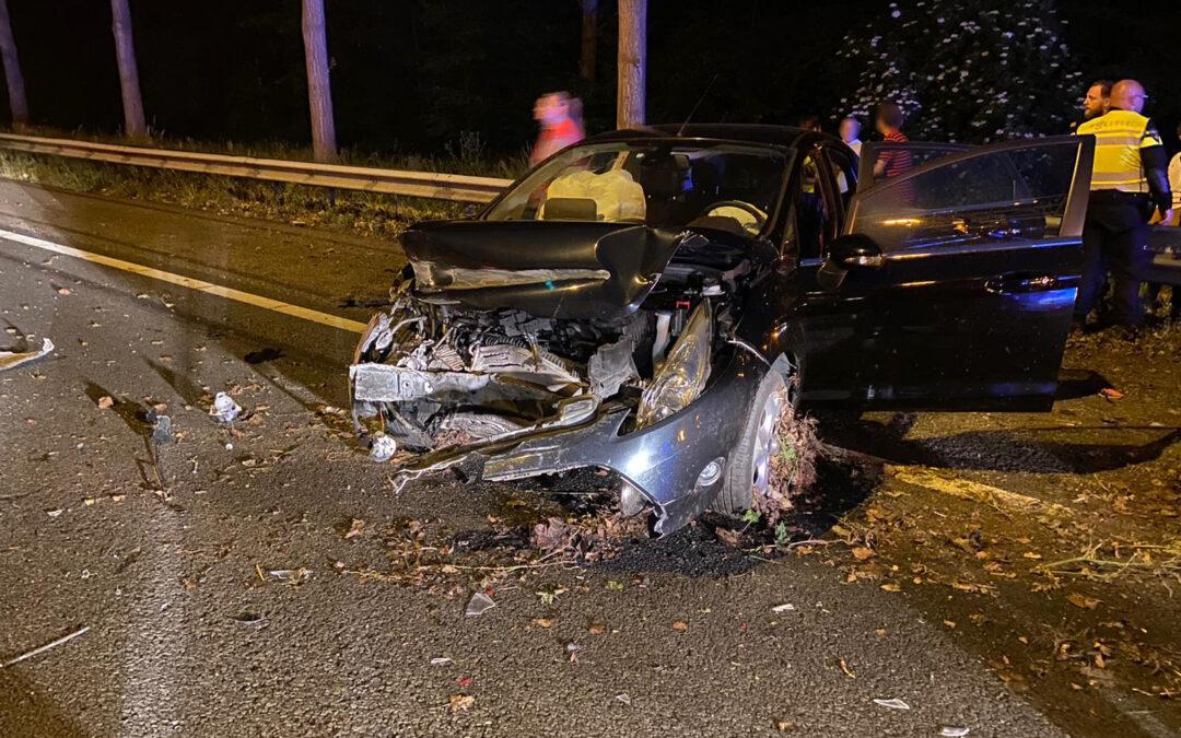 Twee rijstroken dicht na ongeval op A20 bij Nieuwerkerk aan den IJssel