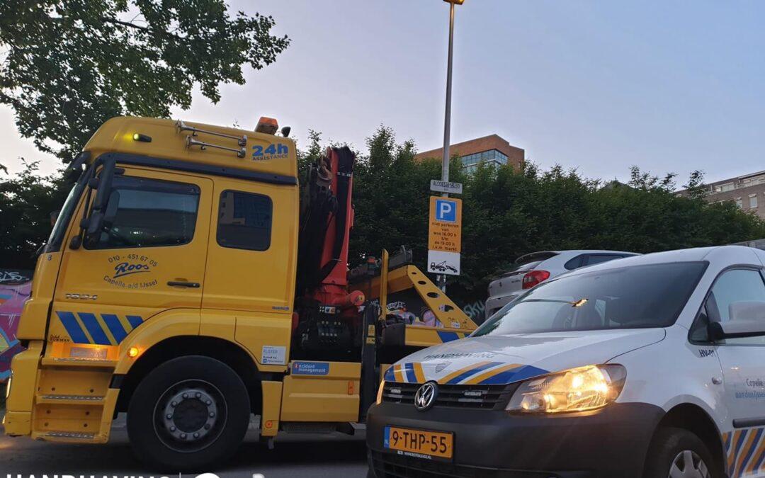 Verkeerd geparkeerde auto's voortaan weggesleept in Capelle aan den IJssel