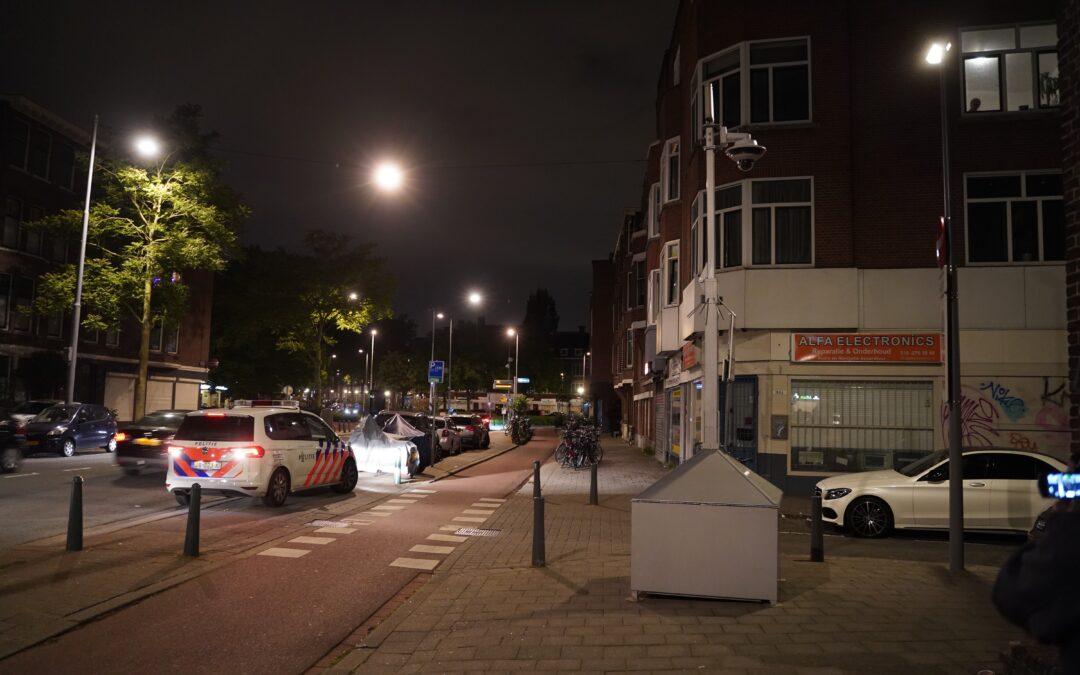Verdacht pakketje voor portiek Jagthuisstraat in Rotterdam blijkt geen explosief na onderzoek