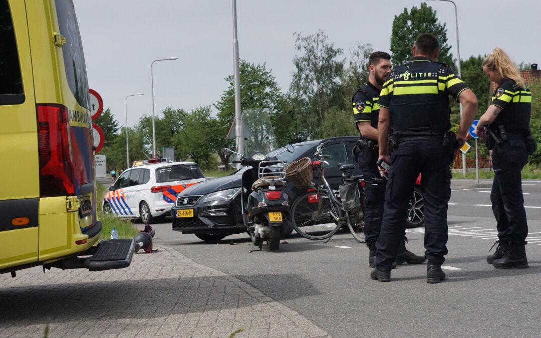 Gewonden bij aanrijding met scooter Provincialeweg – N210 Bergambacht