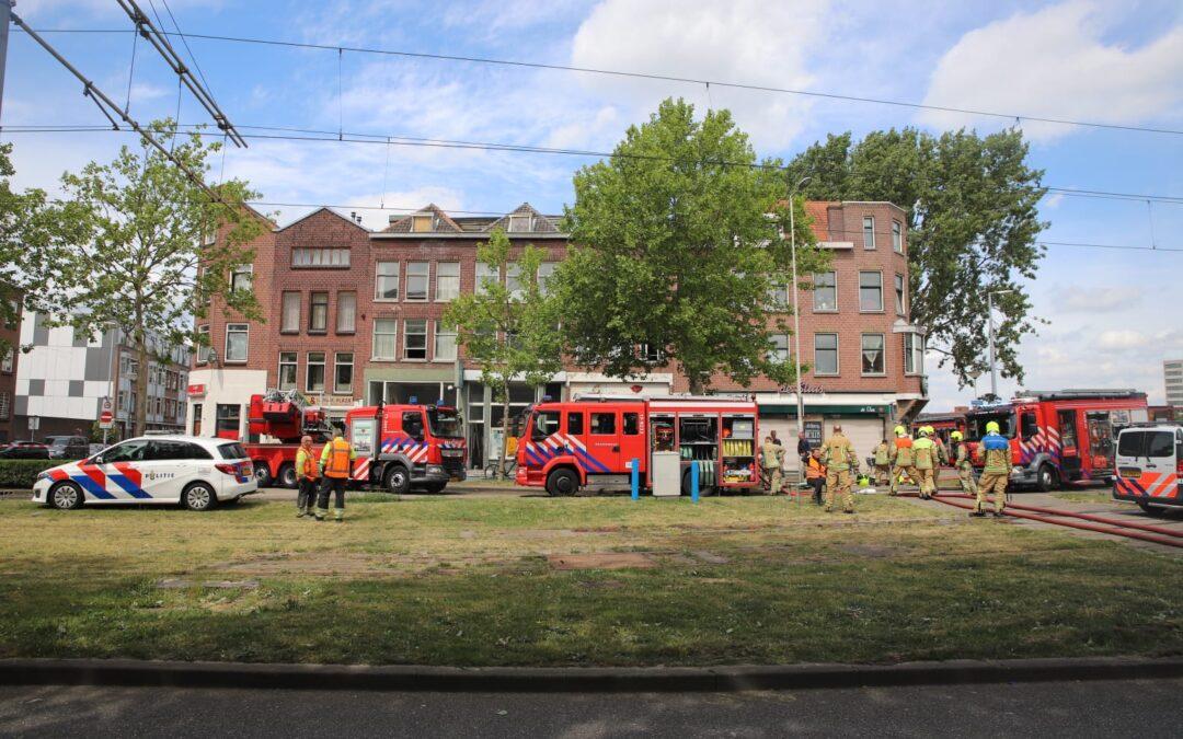 Grote brand Groene Hilledijk Rotterdam