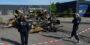 Vrachtwagentrailer uitgebrand in Hellevoetsluis