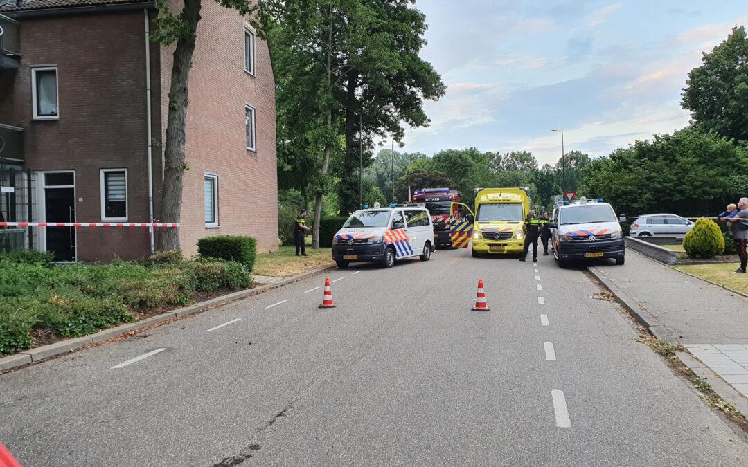 Bewoner laat brandweer niet binnen bij brand Annadaelstraat Sittard