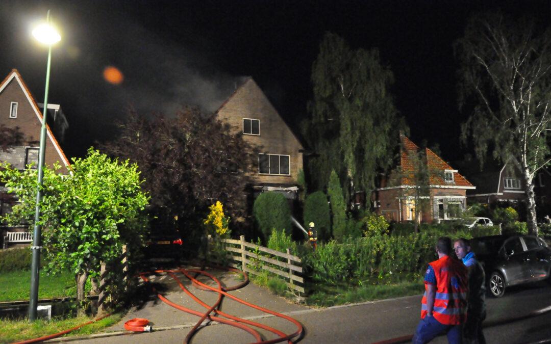 Grote brand in vrijstaande woning Kadijkselaan Bergambacht
