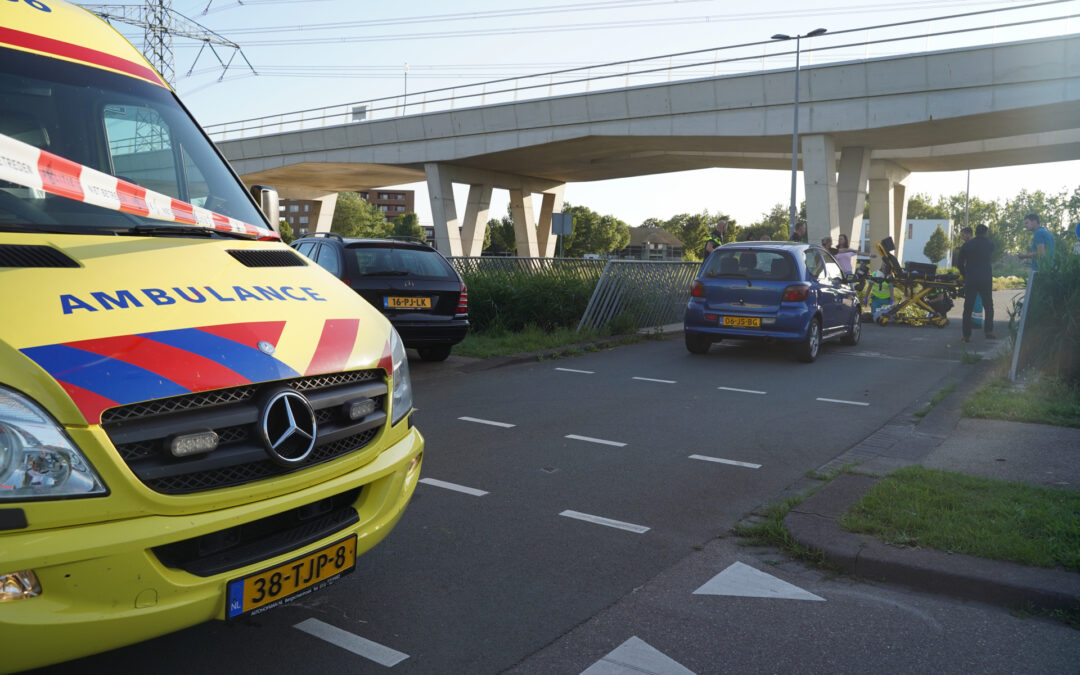 Fietsster zwaargewond na ongeval op oversteekplaats Laan van Dada Rotterdam