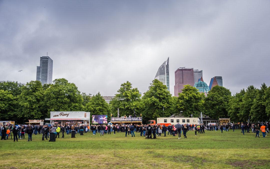 Kermisexploitanten demonstreren in Den Haag