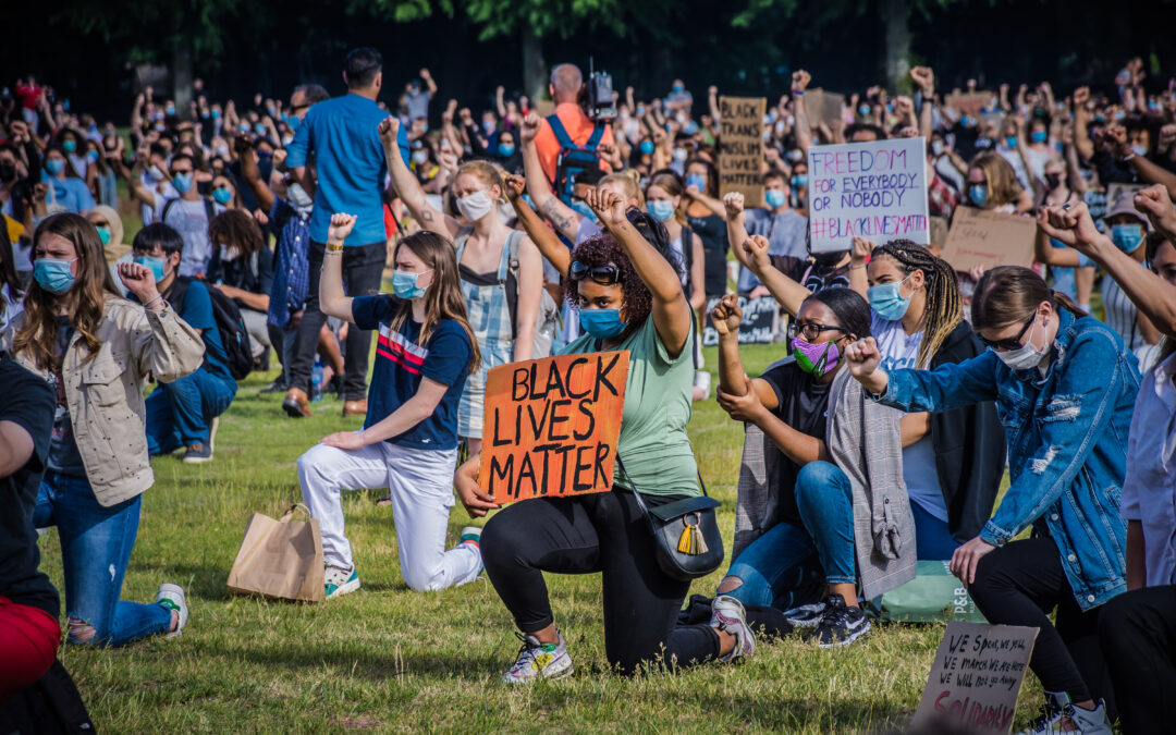 'Black Lives Matter'-demonstratie in Den Haag vreedzaam verlopen