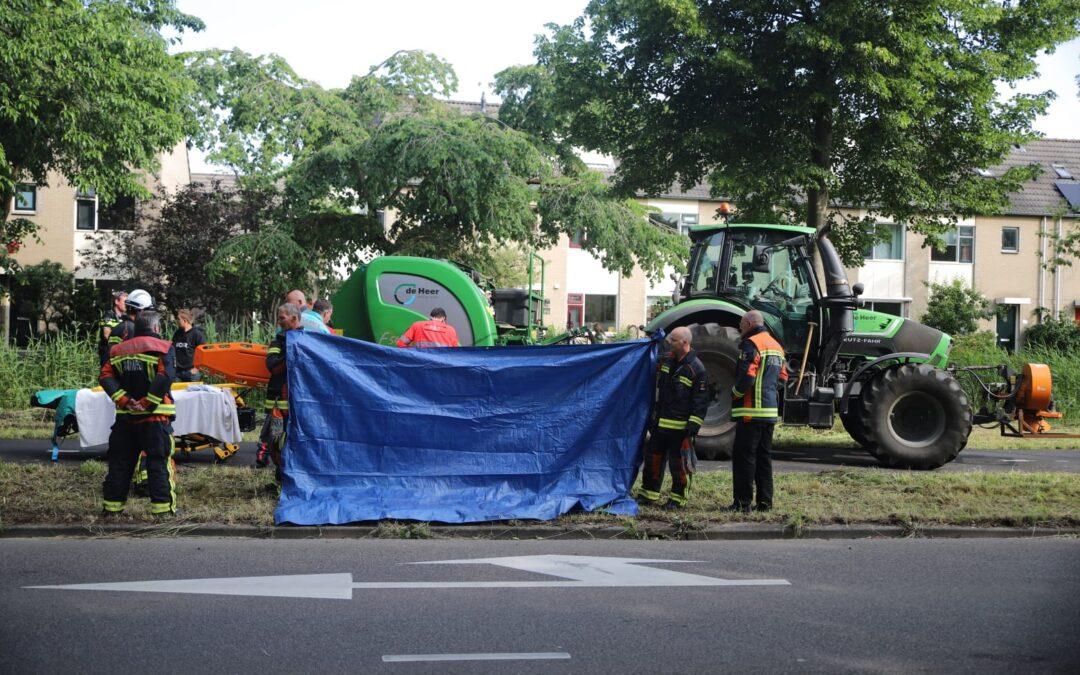 Fietser gewond na aanrijding met tractor in Gouda