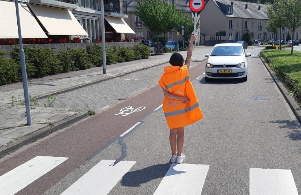 Verkeersbrigadiers examen Krimpen aan den IJssel