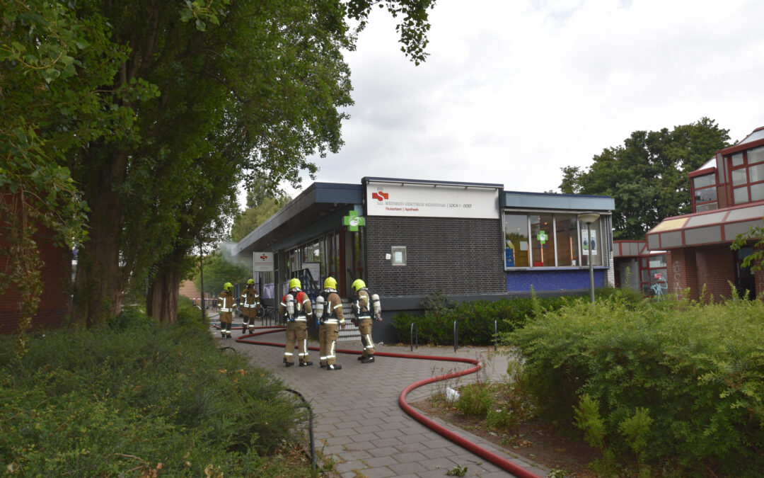 Brand bij Medisch Centrum Schiedam Van Swindensingel Schiedam