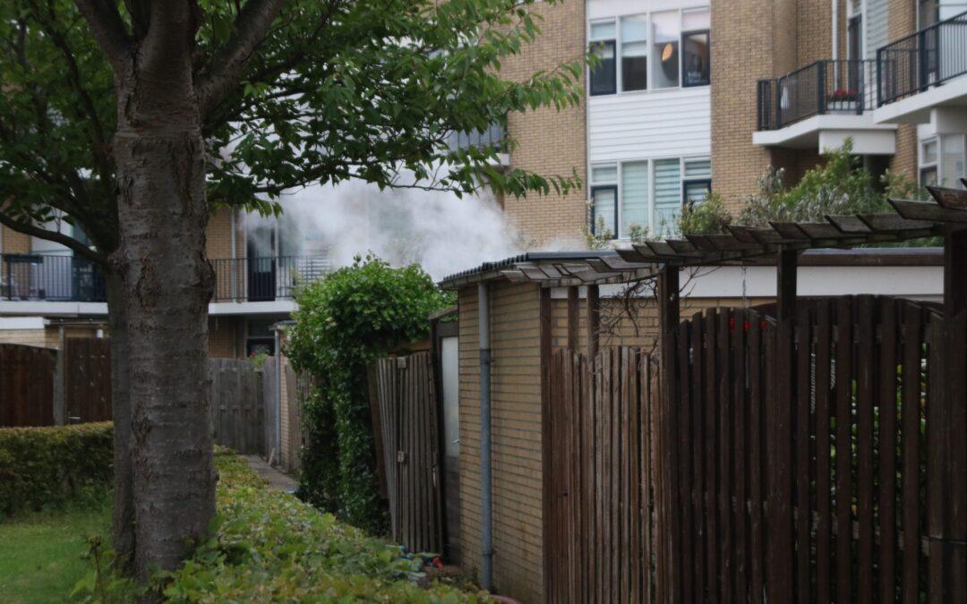 Grote schade bij brand in schuur Sluiswachter Spijkenisse