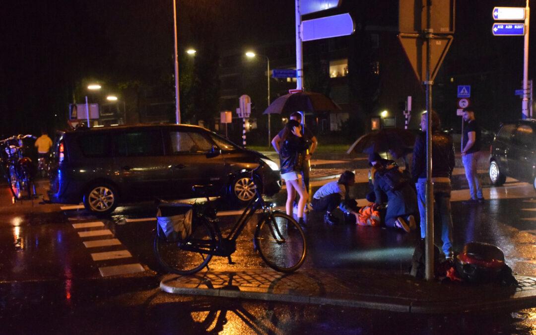 Scooterrijder gewond na aanrijding met auto Burgemeester Jamessingel Gouda
