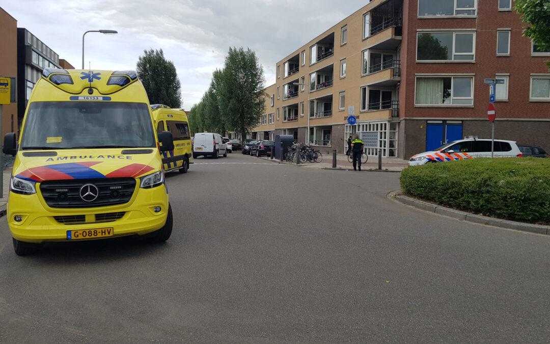 Traumahelikopter ingezet voor incident in flatwoning Ouverturelaan Gouda