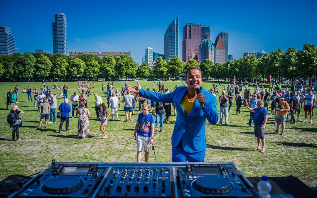 Horeca- en entertainmentbranche demonstreert in Den Haag voor versoepeling Coronamaatregelen