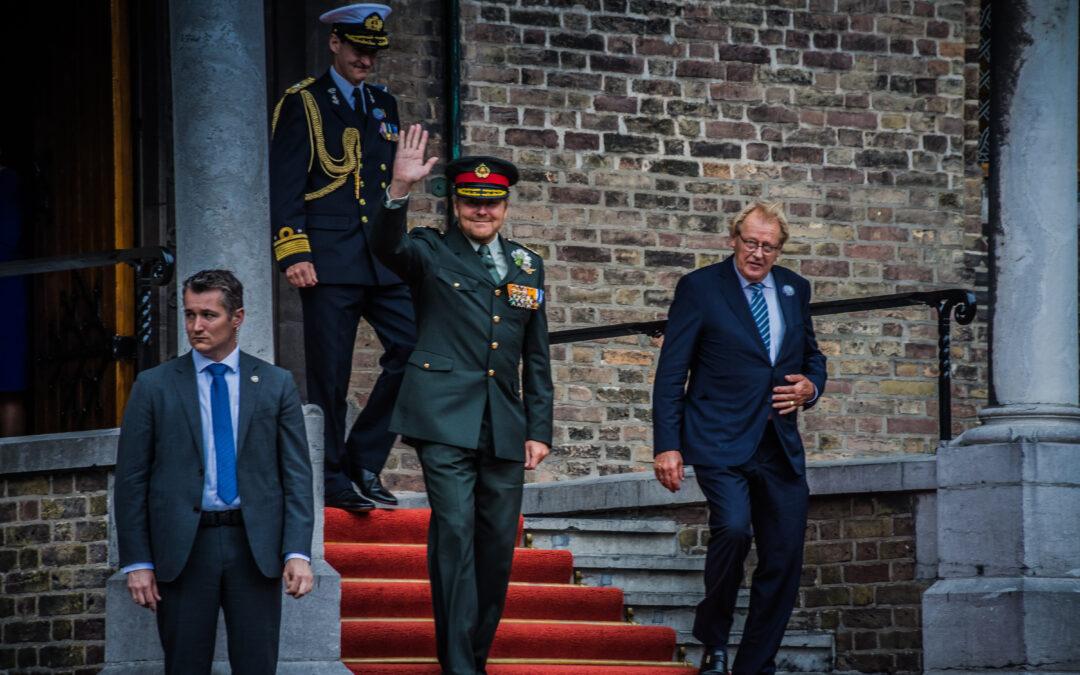 Veteranendag gevierd met bescheiden bijeenkomst in de Ridderzaal
