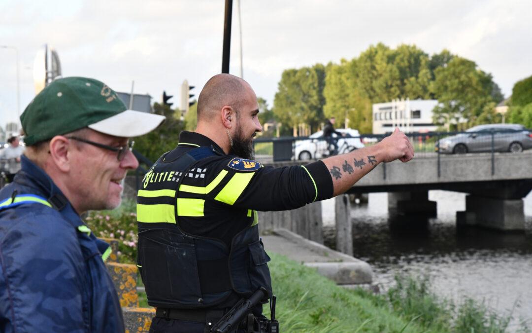 Hulpdiensten opgeroepen voor twee zwemmers De Sprong Hellevoetsluis