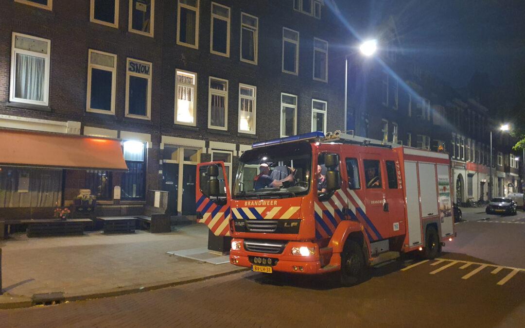 Melding mogelijke gaslekkage Linker Rottekade Rotterdam