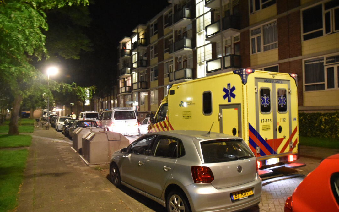 Melding steekpartij, slachtoffer is spoorloos Menenkamp Rotterdam