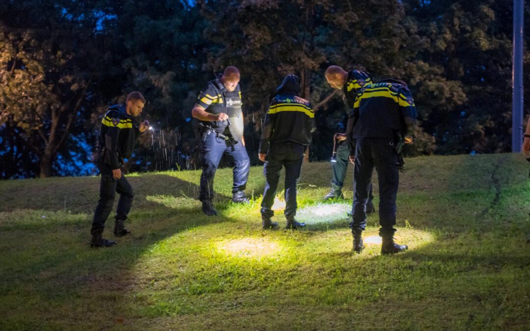 Politie heeft hulzen veiliggesteld na schietpartij Spaansebocht Rotterdam