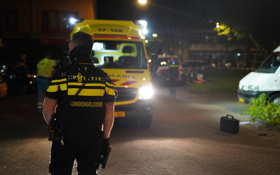 Gewonde na steekpartij Toon Verheystraat Schiedam