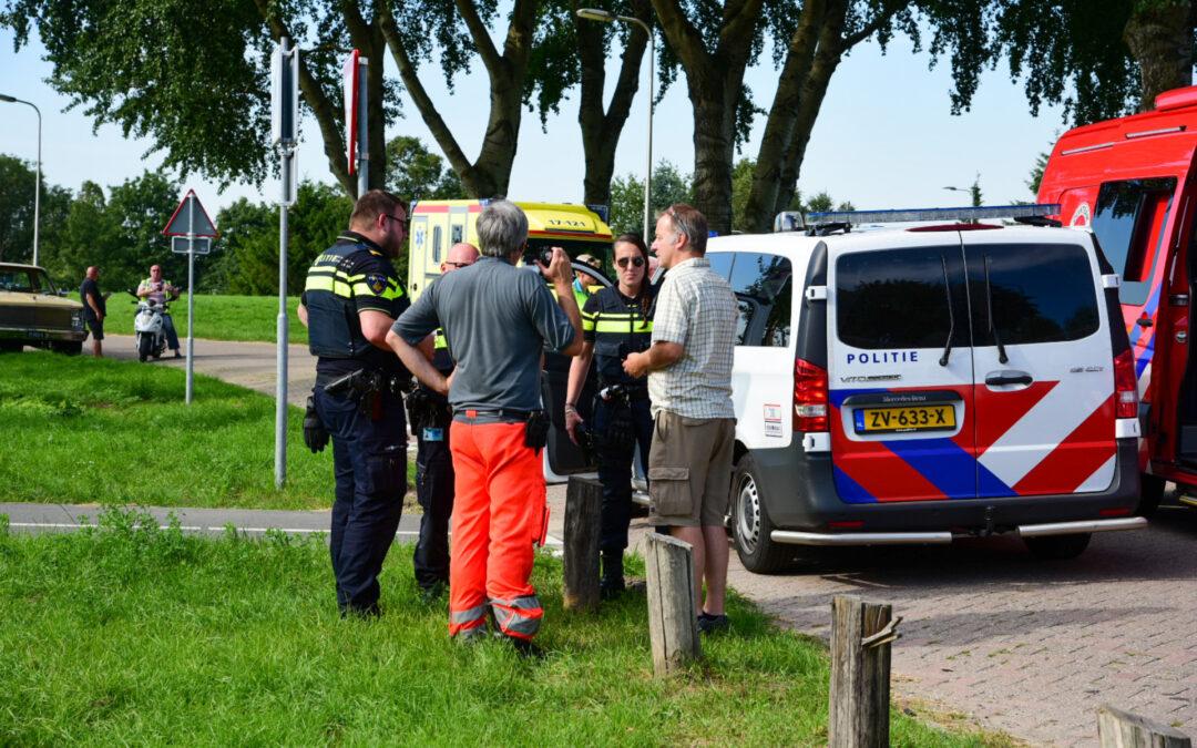 Parachute aangetroffen in Oude Maas Albrandswaardsedijk Poortugaal