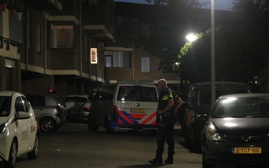Politie doet onderzoek naar schietpartij Kwikstaarthoek Spijkenisse