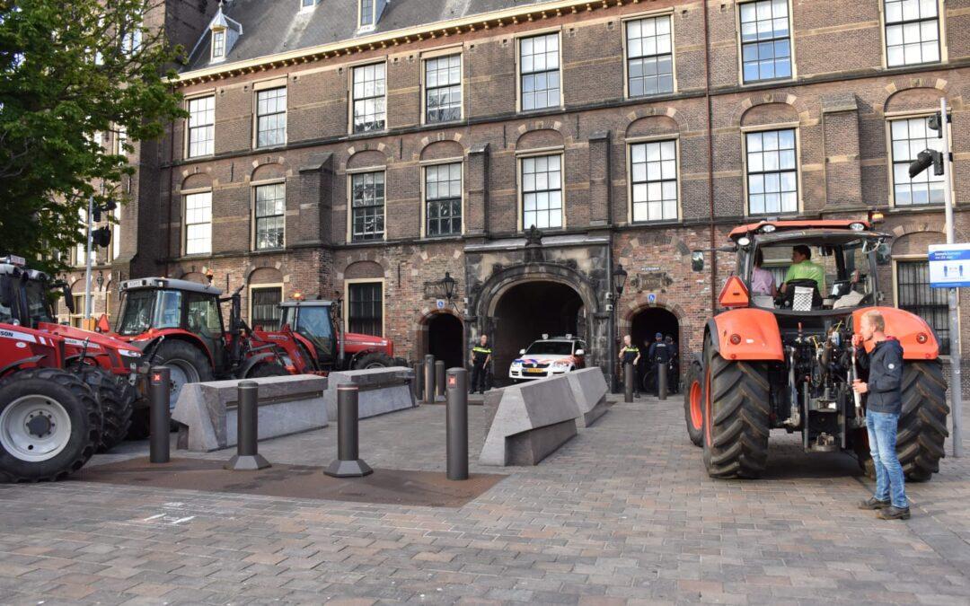 Boeren naar het Binnenhof