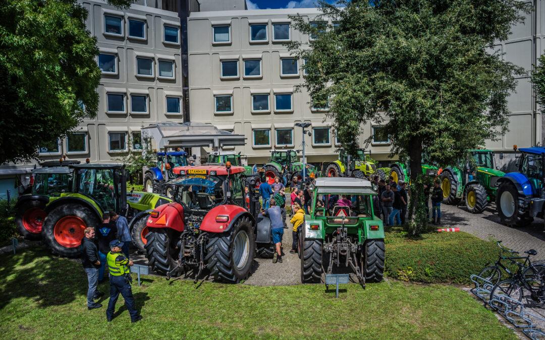 Boeren hebben constructief gesprek met CBL in Leidschendam