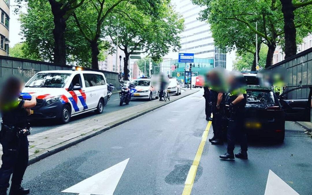 Tweetal opgepakt met heroïne na simpele verkeersovertreding in Rotterdam