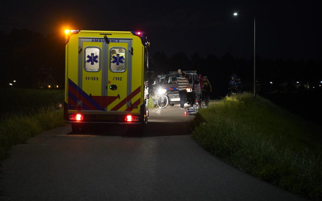 Fietser gewond na valpartij Gaddijk Spijkenisse