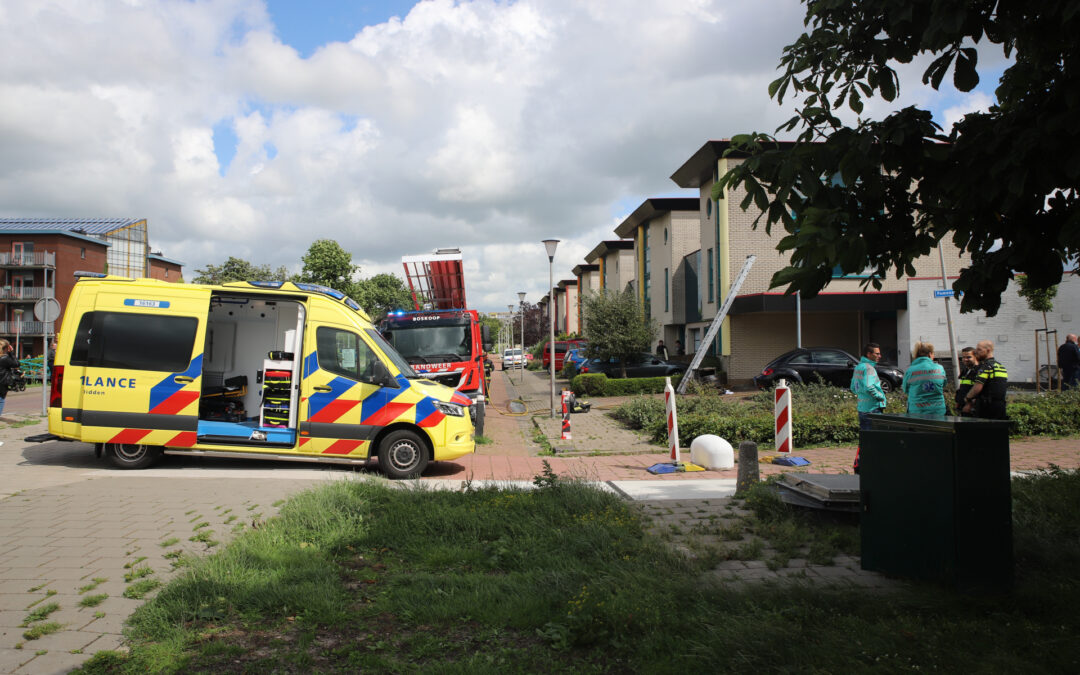 Flinke rookontwikkeling na kortsluiting in droger Reinette Boskoop