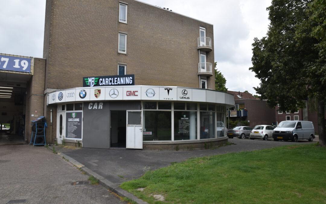 Bedrijfspand voor de tweede keer onder vuur genomen Spoorstraat Vlaardingen