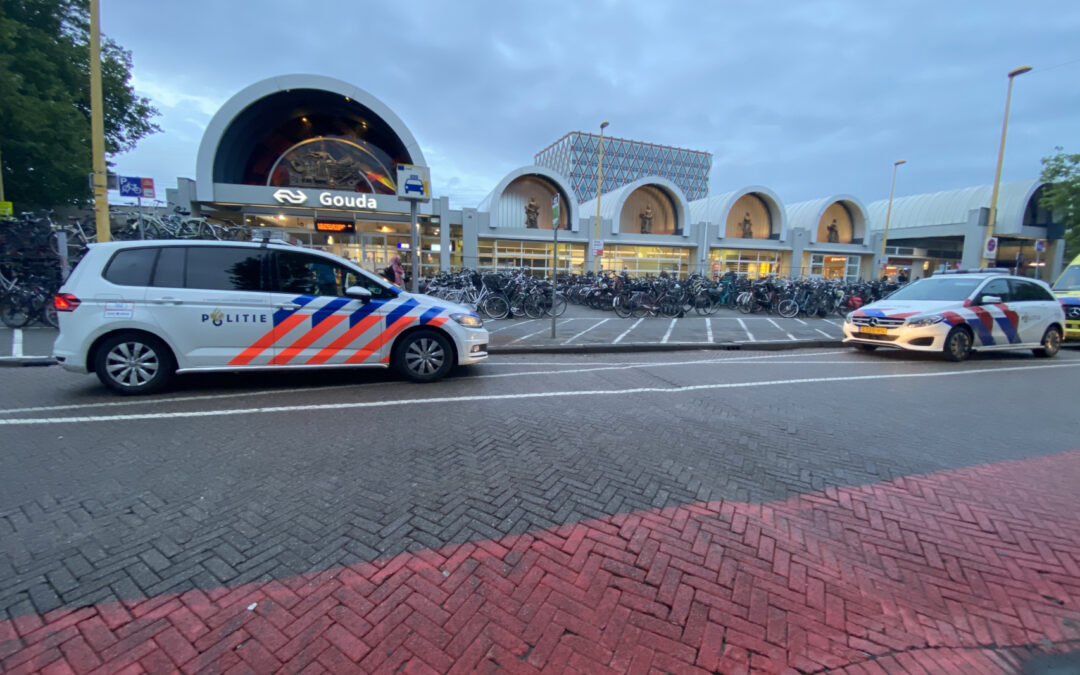 Traumahelikopter ingezet voor incident op station Stationsplein Gouda