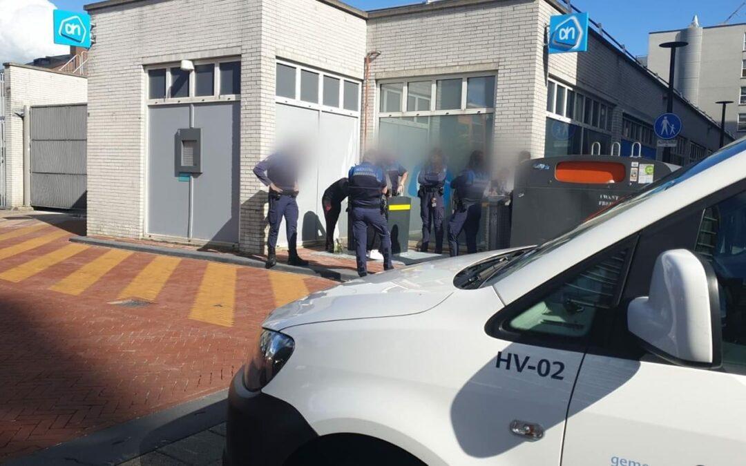 Winkelverbod en bekeuring na vechtpartij Koperwiek Capelle aan den IJssel