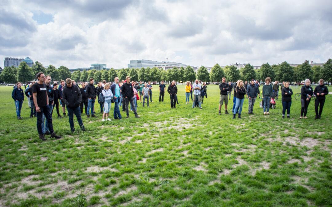 Lage opkomst bij rustig boerenprotest in Den Haag