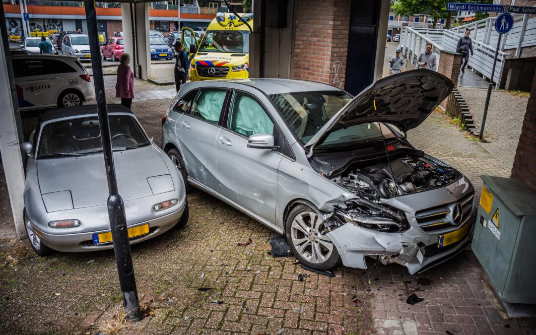 Forse schade na intrappen verkeerde pedaal in Zoetermeer